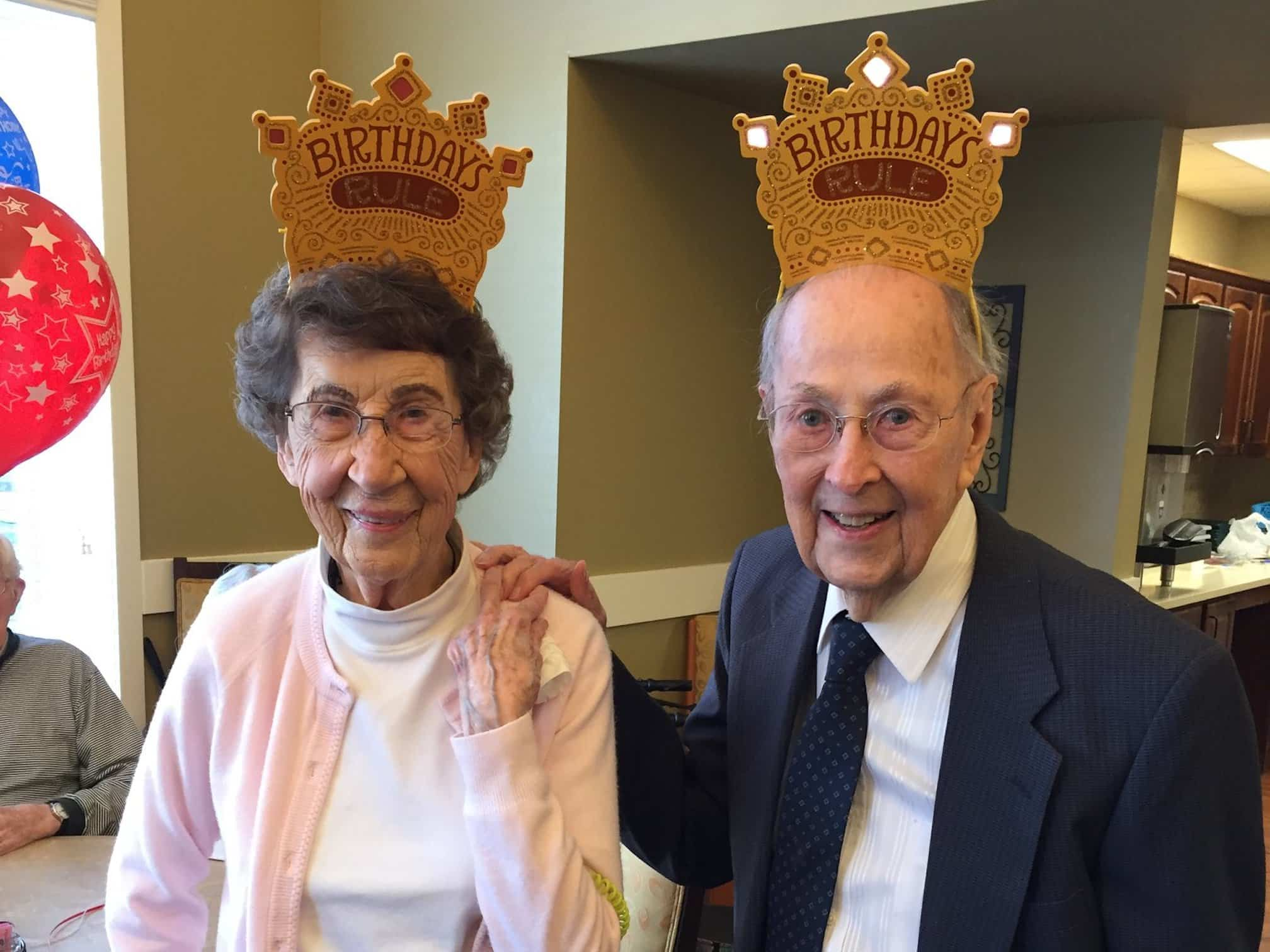 seniors at linden woods village in kansas city